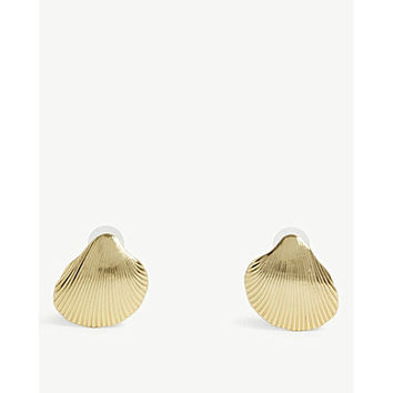 BAUBLEBAR Kavos shell earrings