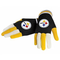 Official NFL Pittsburgh Steelers Gloves Choose Style