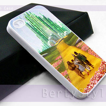Iphone Case - Iphone 4 Case - Iphone 5 Case - Samsung s3 - samsung s4 - The Wizard Of Oz - Photo Print on Hard Plastic