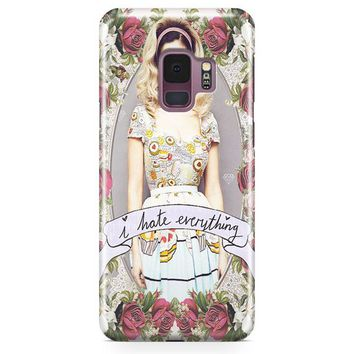 Marina And The Diamond   I Hate Everything Samsung Galaxy S9 Case | Casefantasy