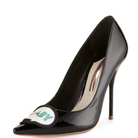 Boss Lady Patent Leather Pump, Black