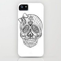Sugar Skull  iPhone & iPod Case by melinamarie