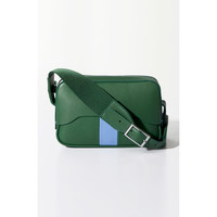Tibi Gaçon Bag by Myriam Schaefer - Green/Blue Leather Bag