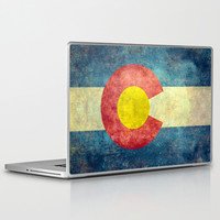 Colorado State Flag Laptop & iPad Skin by LonestarDesigns2020 - Flags Designs +