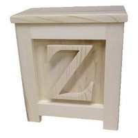 Wooden Block Step Stool - Made to Order Unpainted