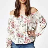 Billabong Mi Amore Off-The-Shoulder Top at PacSun.com
