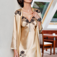 Petra Dressing Gown by Irall Lingerie