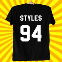 Harry Styles one direction 1D jersey best custom for T Shirt Mens and T Shirt Girls