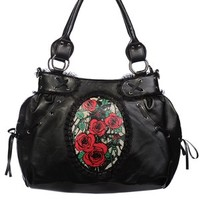 Tangled Rose Cameo Handbag