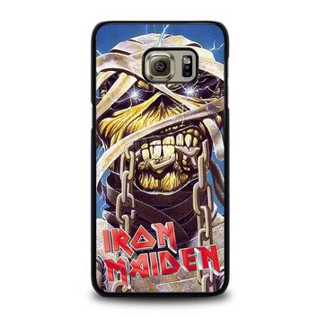 iron maiden samsung galaxy s6 edge plus case cover  number 1