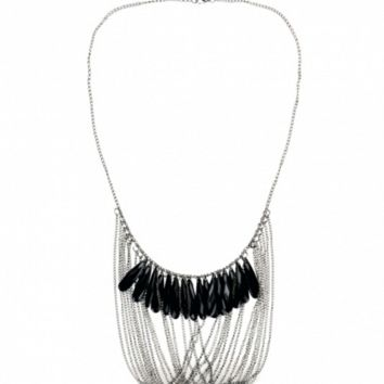 Clarissa Teardrop Boho Necklace