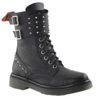 Women's Spiked Combat Boots - FW2093 from Dark Knight Armoury