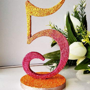 Table numbers wedding Glitter Table Numbers Decor Gold Wedding Gold and Pink Rose Glittery Table Numbers for Wedding Wooden Table Numbers