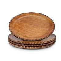 GG Collection Wooden Beaded Chargers