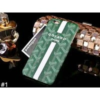 GOYARD Tide brand half-pack hard shell iphone8plus mobile phone case cover #1