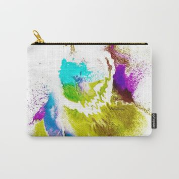 VIOLA WOO COLLECTIONS Carry-All Pouch by violajohnsonriley