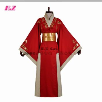 Game of Thrones Queen Cersei Lannister Red Dress Cosplay Costumes Custom Made
