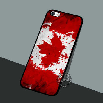 Canadian Flag Facebook - iPhone 7 6 5 SE Cases & Covers