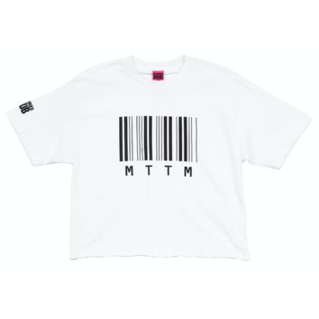 The Barcode Crop Tee
