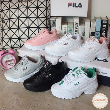 Original Fila Disruptor 2 Inspired Sneakers Thick Increase Blade Running Shoes