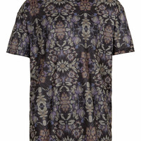 TAPESTRY PRINT MESH T-SHIRT - Men's T-shirts & Tanks - Clothing - TOPMAN USA