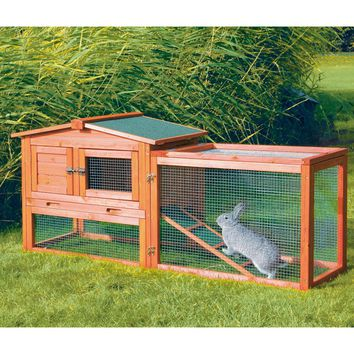 TRIXIE Rabbit Hutch with Outdoor Run - Extra Small | www.hayneedle.com