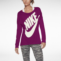 The Nike Signal Long-Sleeve Women's T-Shirt.