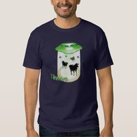 I Believe UFO Cows Abductions Tees