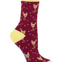 Sock It To Me CHICKEN LITTLE Womens Crew Socks