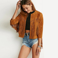 Winter Women Vintage Fringe Jacket LAVELIQ