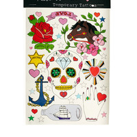 Rosie Wonders | Rosie Wonders Mexican Skull Temporary Tattoo at ASOS