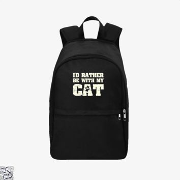 I'D Rather Be With My Cat, Cat Backpack