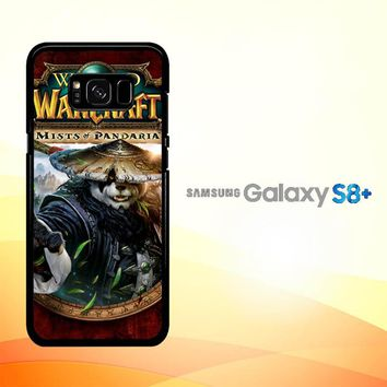 World of Warcraft Guardian Druid Mists of Pandaria Z0652 Samsung Galaxy S8 Plus Case