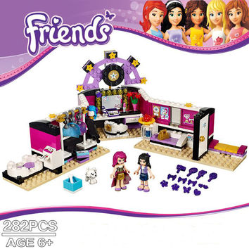 2016 New BELA Friends Building Blocks Girl Dressing Room 282pcs Christmas Gifts Bricks Toys Compatible Legoe friends