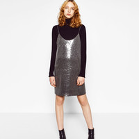 SEQUINNED DRESS - DRESSES-WOMAN-SALE | ZARA United States