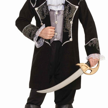 Boys Deluxe Swash Buckler Pirate Costume
