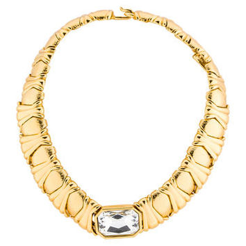 Yves Saint Laurent Gripoix Necklace