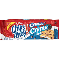 Walmart: Nabisco Chewy Chips Ahoy! Oreo Creme Filled Soft Cookies, 9.6 oz