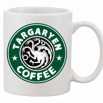 Game of Thrones Inspired Targaryen Coffee mugs  mugen home decal wine  whiskey beer ceramic mug