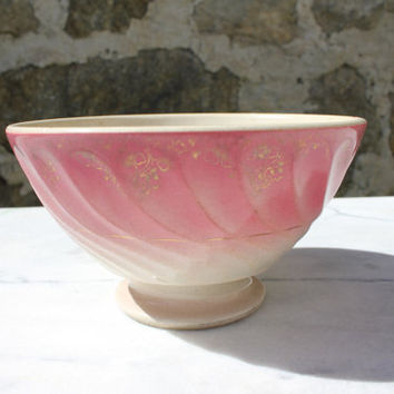 Faience bowl - Vintage French country