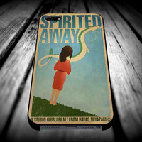 Spirited Away Art for iPhone 4/4s/5/5s/5c/6/6 Plus Case, Samsung Galaxy S3/S4/S5/Note 3/4 Case, iPod 4/5 Case, HtC One M7 M8 and Nexus Case **