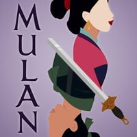 Mulan Art Print by hayley phoenix
