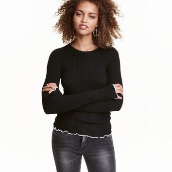 H&M Ribbed Top $19.99