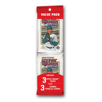 2012 TOPPS GYPSY QUEEN Baseball Value PACK 3 Frame Parallel Cards