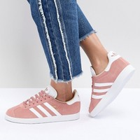 adidas Originals Gazelle Sneakers In Pink at asos.com