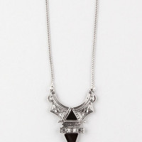 FULL TILT Long Double Triangle Necklace | Necklaces