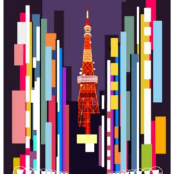 Cars 2 Tokyo Mini Poster 11x17in