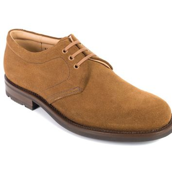 Church's Chestnut Brown Suede Superbuck Lace Up Shoes