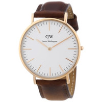 Daniel Wellington Men's Classic St. Andrews Rose Gold Watch