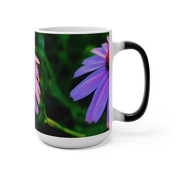 Cone Flower Color Changing Mug